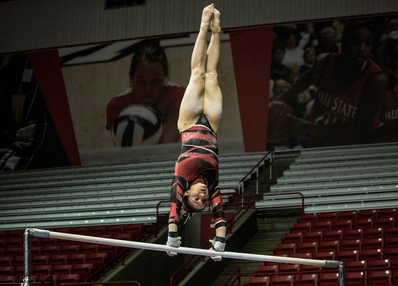 Low placement leads to Ball State gymnastics' loss to Central Michigan