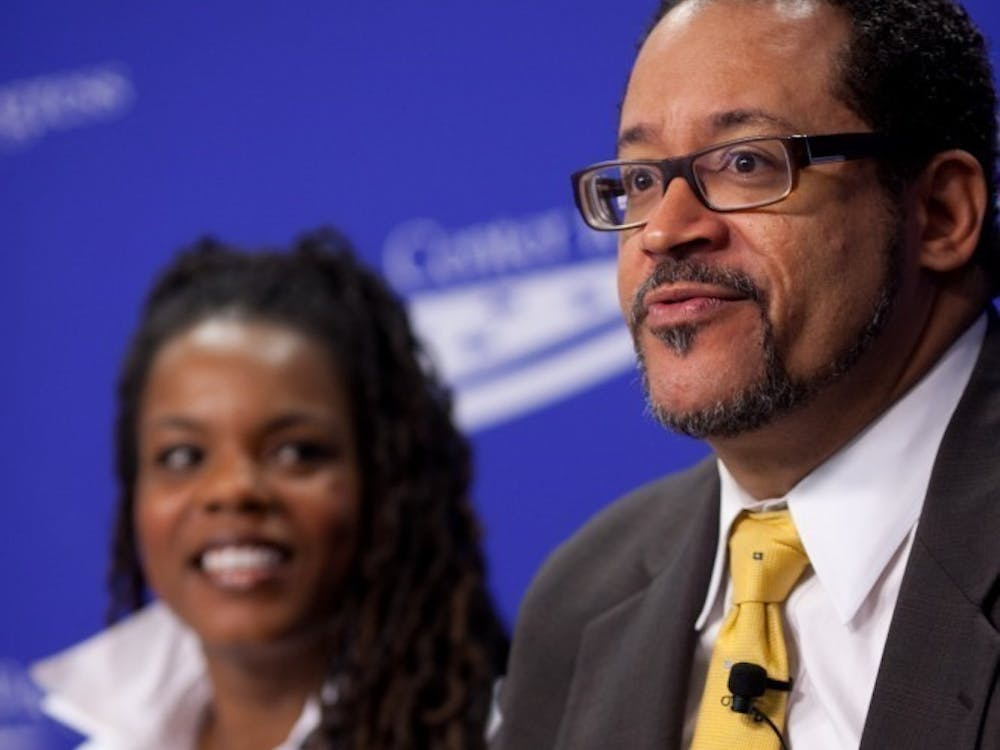 """Dr. Michael Eric Dyson is presenting """"Dr. King for the 21st Century,"""" 7:30 p.m., Tuesday in Pruis Hall for Ball State's Unity Week. Professor Ramon Avila said Dyson isn't necessarily the best fit as the Unity Week keynote speaker. Center for American Progress, Photo Courtesy"""