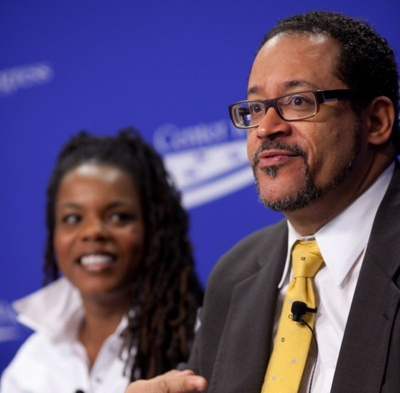 "Dr. Michael Eric Dyson is presenting ""Dr. King for the 21st Century,"" 7:30 p.m., Tuesday in Pruis Hall for Ball State's Unity Week. Professor Ramon Avila said Dyson isn't necessarily the best fit as the Unity Week keynote speaker. Center for American Progress, Photo Courtesy"