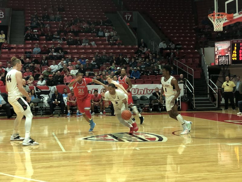 Ball State Men's Basketball throttles Delaware State in non-conference finale