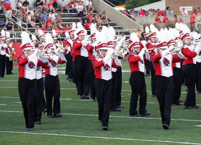 Marching band prepares for busy Homecoming weekend