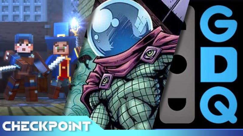 New Spiderman Suit, Jake Gyllenhaal's Mysterio, Minecraft Dungeons, GDQ Charity | Checkpoint