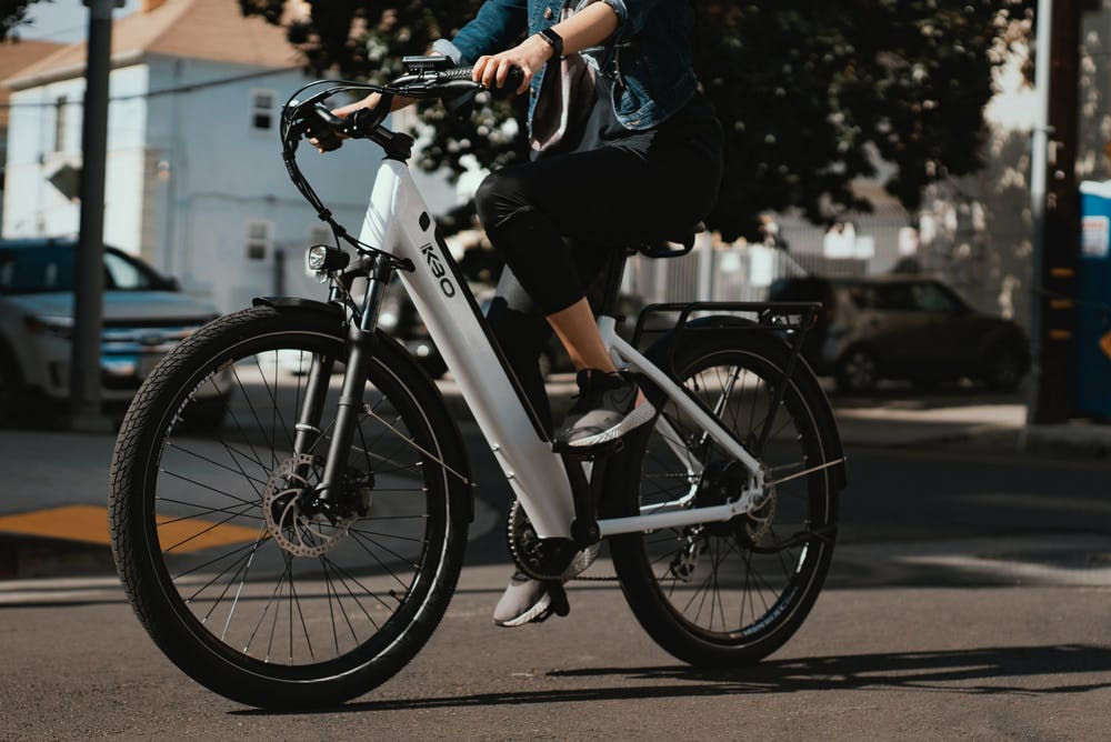 <p>E-bikes have battery power, sometimes built into the bike frame, to offer riders assistance when they pedal. A study by Jim Peterman, Ball State research associate in the Fisher Institute of Health and Well-Being, found people who used e-bikes to commute to work improved some of their fitness variables, including VO2 max, glucose levels and total daily activity. <strong>Unsplash, Photo Courtesy</strong></p>