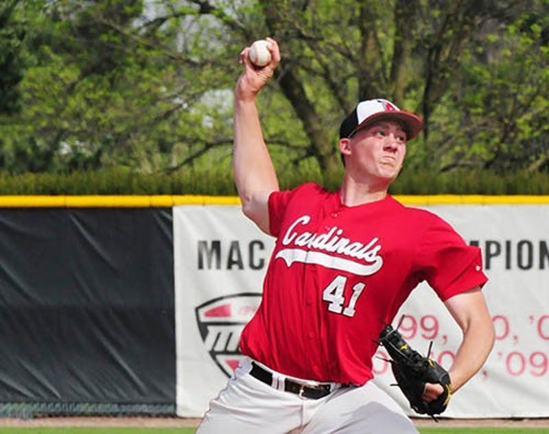 Ball State sophomore shining on the mound
