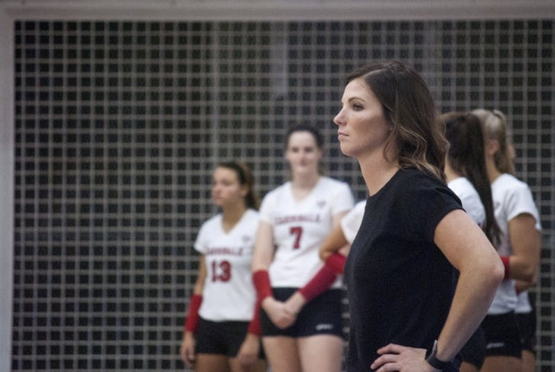 Ball State women's volleyball falls to Butler