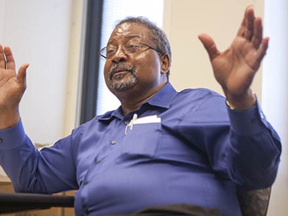 Charles Payne, assistant provost for diversity, is retiring after 41 years of working at Ball State. Payne came to live in Muncie in 1972 and can recall what life was like in the city and on campus back then. DN PHOTO JORDAN HUFFER