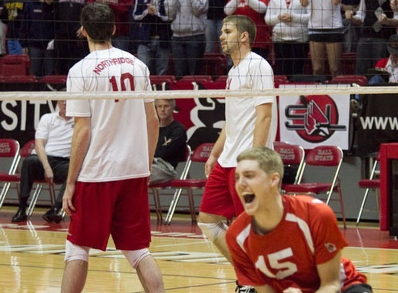 MEN'S VOLLEYBALL: Ball State's Nelson plays 'out of his mind' in upset victory