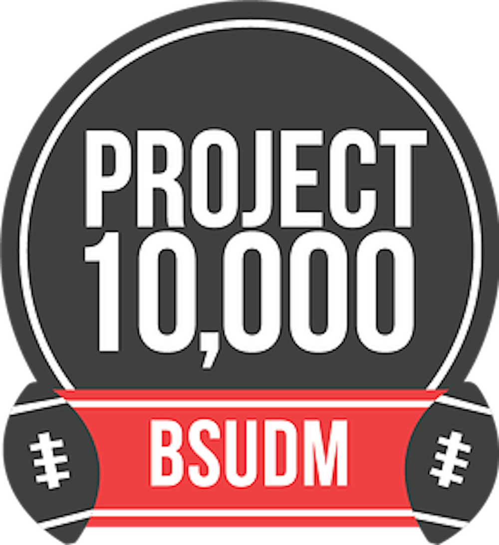 <p>Ball State's athletic department will offer Ball State University Dance Marathon $10,000 if they can get 10,000 students to next home game Nov. 6. </p>