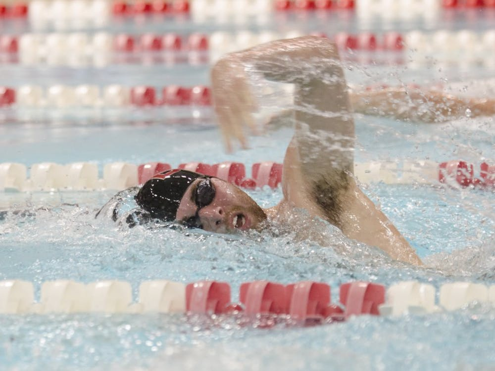 The Ball State men's and women's swim and dive teams take part in the Tenth Annual Doug Coers Invitational on Nov. 22 at the Lewellen Aquatic Center.