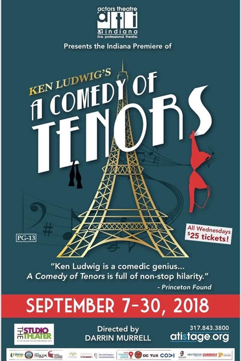 Two Ball State alumni to act in 'A Comedy of Tenors'