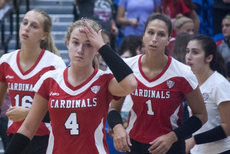 Ball State women's volleyball falls to Fort Wayne, Murray State