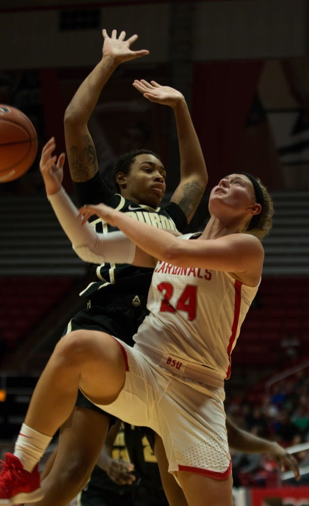 Ball State Women's Basketball Fell Short to Purdue