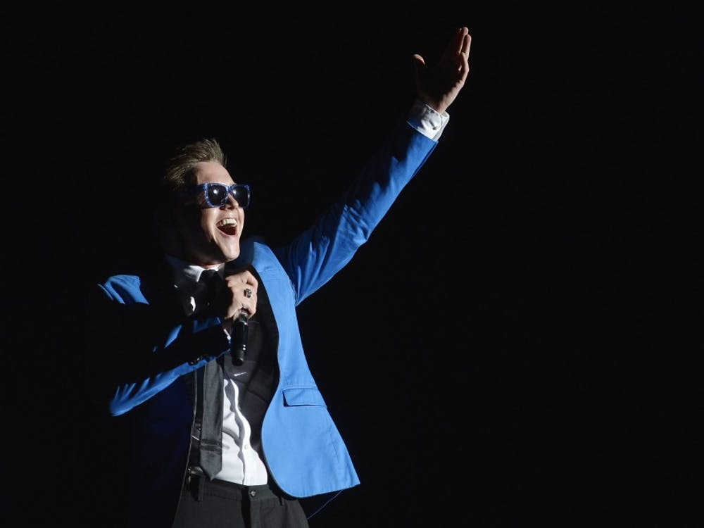 Jesse McCartney performs in concert in Raleigh, North Carolina, August 20, 2013. (Scott Sharpe/Raleigh News & Observer/MCT)