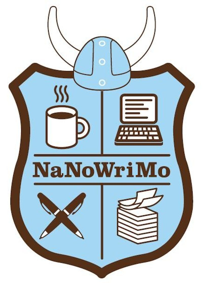 The National Novel Writing Month challenges writers to pen 50,000 words in one month. Ball State and the Muncie community are striving to write 5 million collective words in a month. NaNoWriMo, Photo Provided