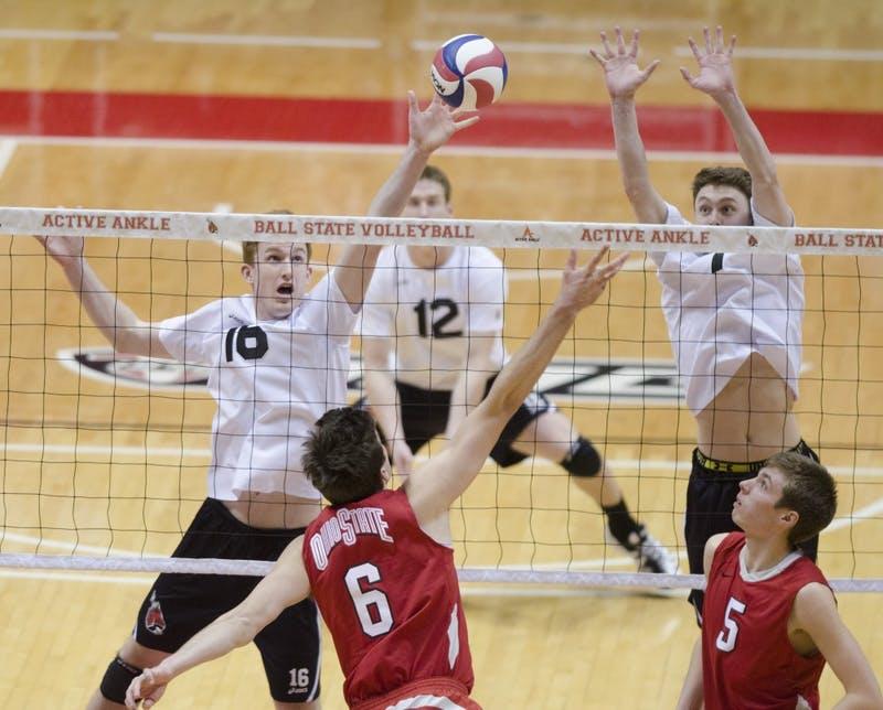 MEN'S VOLLEYBALL: Ball State falls to Loyola in five sets