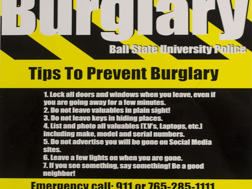 Students living around campus this summer might want to take some precautions before they go on summer vacation, internships or back home to prevent burglaries.BREANNA DAUGHERTY // DN FILE