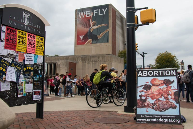 Created Equal hosts anti-abortion rally at Ball State
