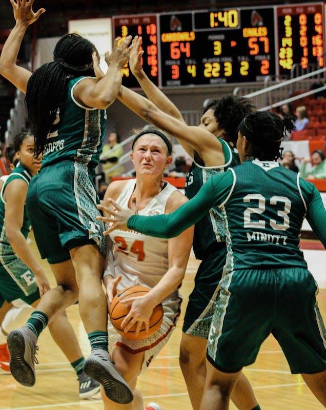 Women's basketball: An upward trajectory