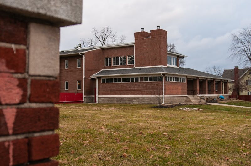 Alpha Tau Omega's letters have not been placed on their house as of Jan. 8, 2018 on Riverside Avenue. The house Theta Chi once resided in has been leased by Alpha Tau Omega until the owners can recolonize in the fall of 2021. Madeline Grosh, DN