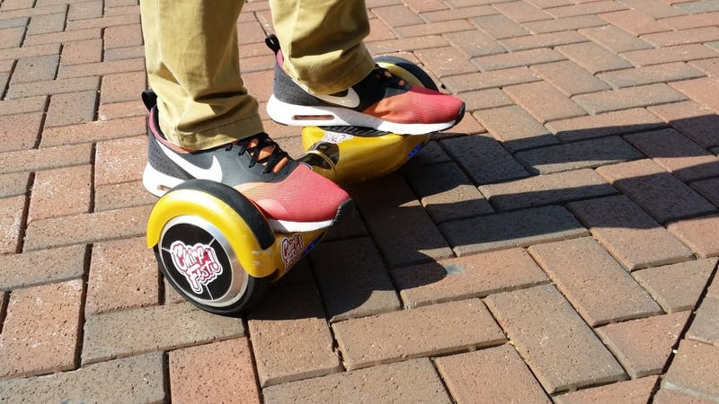 Self-balancing boards: 'It's all in the ankles'