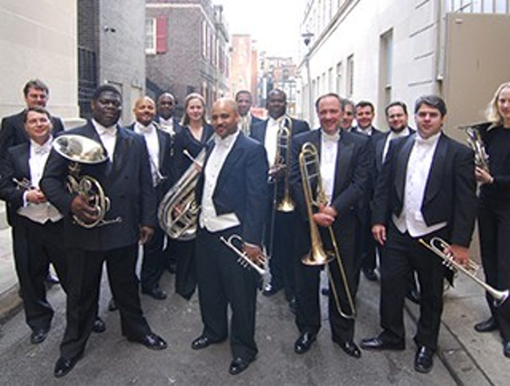 <p>The Rodney Marsalis Philadelphia Big Brass: Brothers on the Battlefield&nbsp;will come to John R.&nbsp;Emens Auditorium Feb. 2 at 7:30 p.m. The group of six Virtuoso brass musicians will perform a&nbsp;theatrically-staged production in the honor&nbsp;of the end of the 150th Anniversary of The American Civil War. <em>Ball State // Photo Courtesy</em></p>