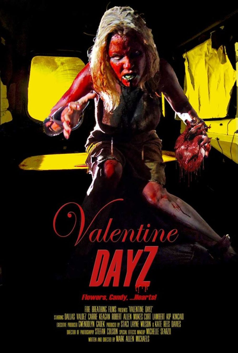 Valentine DayZ is written, directed and acted in by four different Ball State alumni. Robert Acres, Curt Lambert and Ed Morrell all have acting roles, while Mark Allen Michaels writes, directs and acts as Dallas Valdez. Mark Allen Michaels,Photo Provided