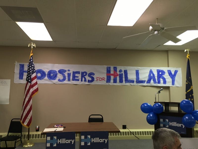 Hillary Clinton opens campaign office Muncie
