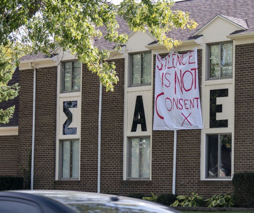 Fraternities spread messages of consent for Homecoming week