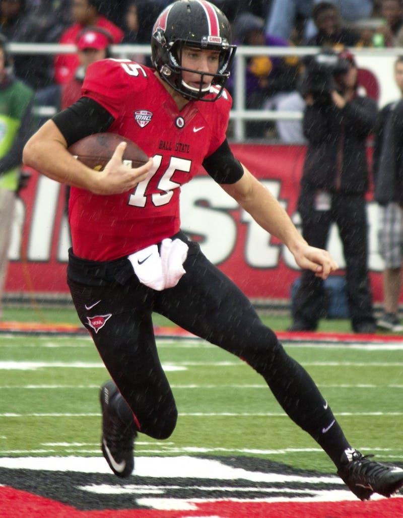 Ball State quarterback Riley Neal's turnover struggles