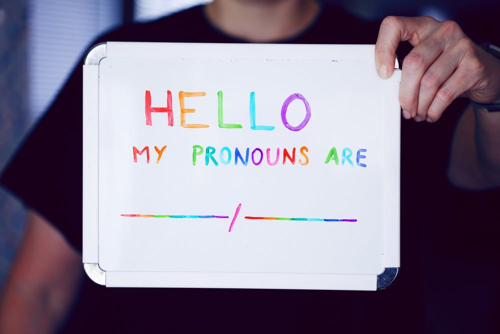 <p>Ball State students and staff may add their pronouns in the self-service banner on their personal Ball State accounts. <strong>Unsplash, Photo Courtesy</strong></p>