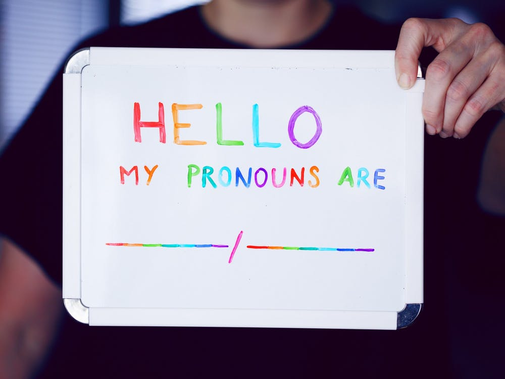 Ball State students and staff may add their pronouns in the self-service banner on their personal Ball State accounts. Unsplash, Photo Courtesy