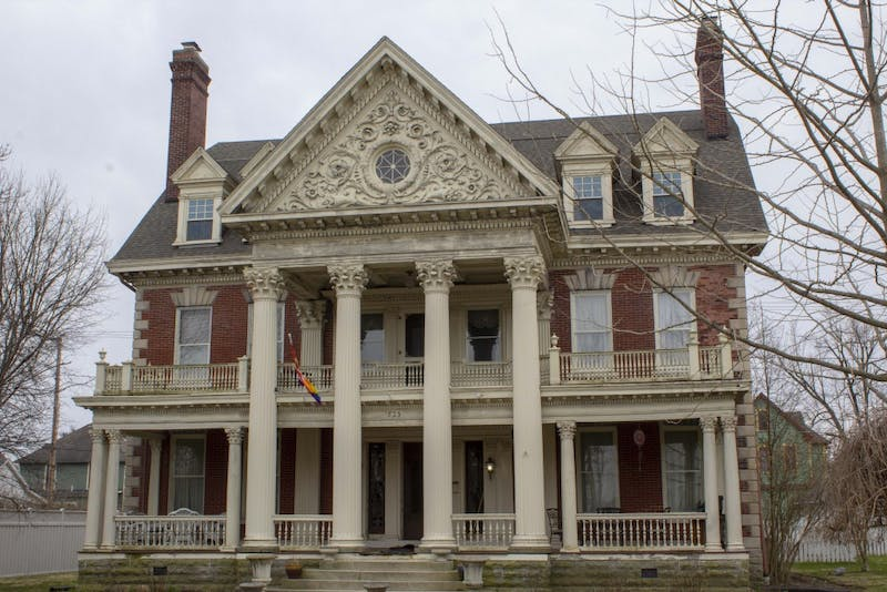 The Charles Over Mansion, at 825 E. Washington St., Muncie, Indiana, is located in the Emily Kimbrough Historic Distric. More than 116-years-old, the home has been in Jonathan Becker's name for nearly five years. Mary Eber, DN