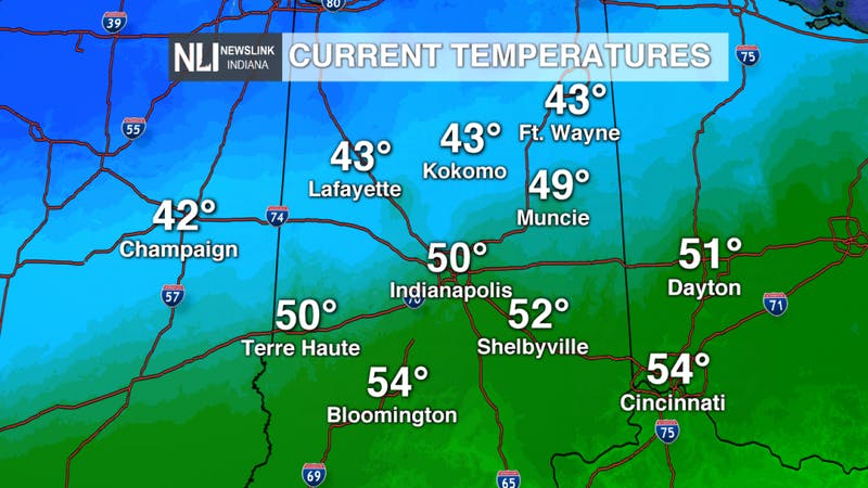 Chilly weekend, warmer temperatures ahead