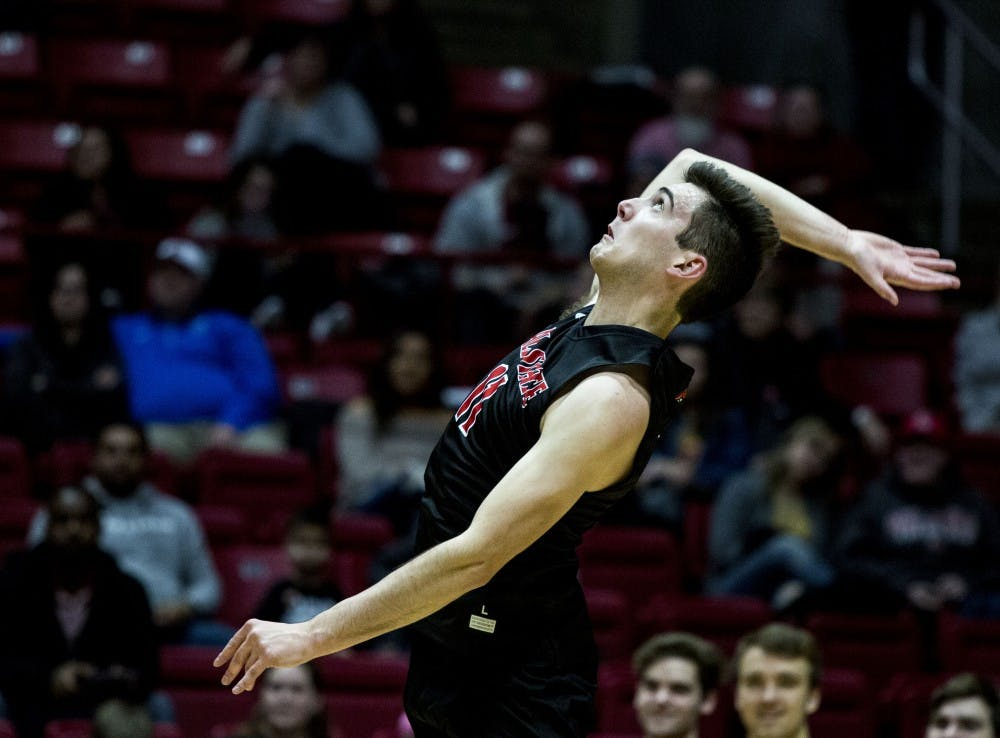 Ball State Men's Volleyball extends win streak with win over Sacred Heart