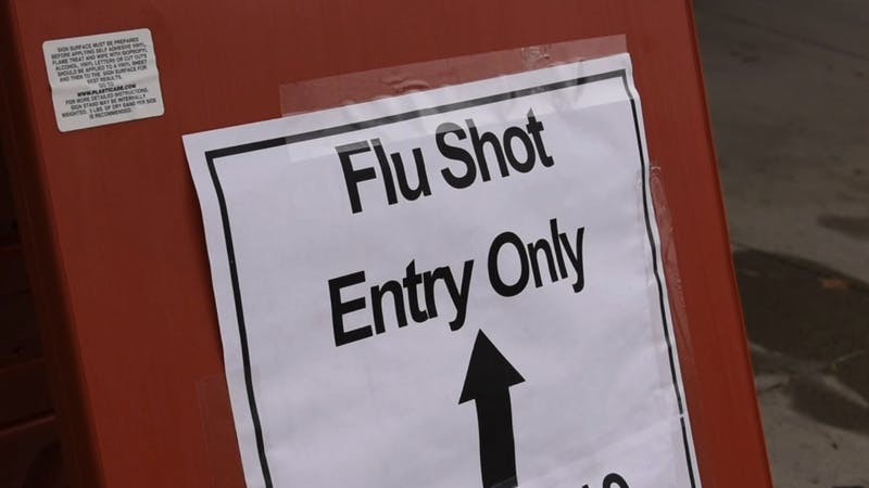 Free Flu shots are being offered to students and staff at Ball State University.