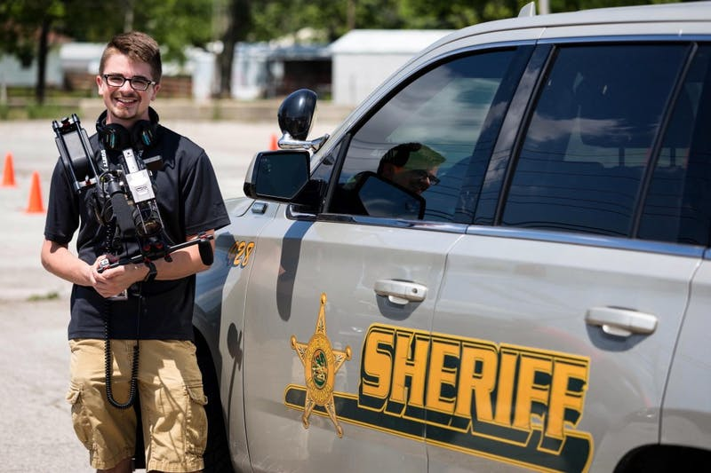 Ball State student produces show for Delaware County Sheriff's office