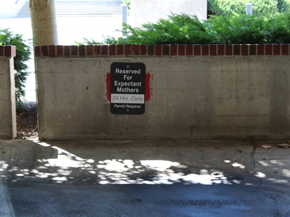Ball State is now offering a special parking pass that allows expectant mothers to park at six designated spots throughout campus. This is one of the few accomplishments made by the Student Government Association the past five years. Brooke Kemp, DN