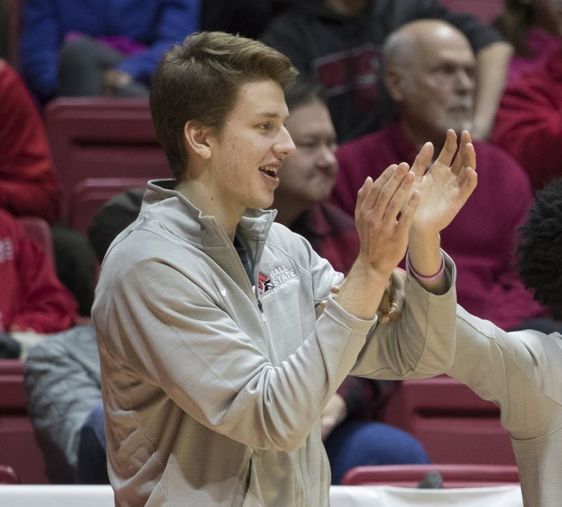 Ball State Basketball forward Zach Hollywood passed away Aug. 22. Ball State Athletics // Photo Provided