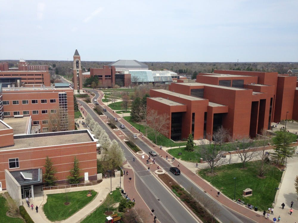 <p>Joan Todd confirmed that the university retention office sent emails to students on Jan. 10&nbsp;containing the names of students on academic probation .&nbsp;Schools cannot disclose this information without written consent from the eligible student. <em>Breanna&nbsp;Daugherty // DN File</em></p>