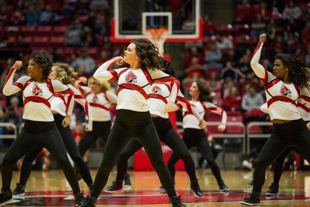The Code Red Dancers perform at competitions as well as football and men's and women's basketball games. Additionally, they must maintain a 2.0 cumulative GPA. Eric Pritchett, DN