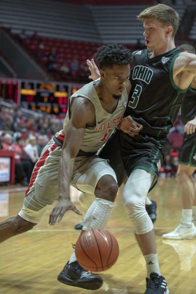 Ball State Men's Basketball falls short to Ohio