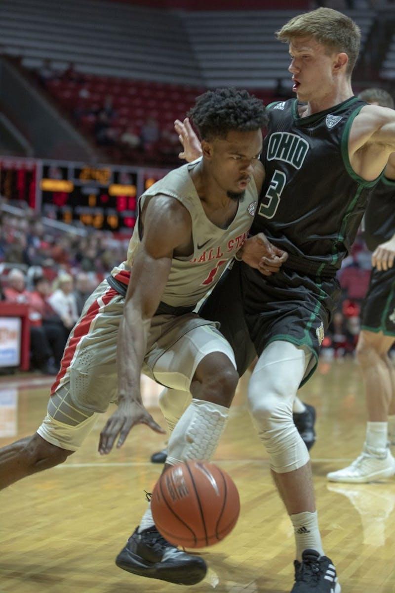 Ball State Men's Basketball falls short to Ohio