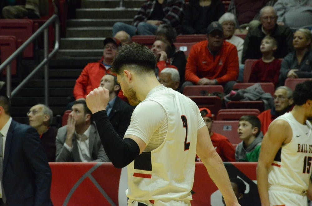 Ball State Men's Basketball upsets Eastern Michigan in MAC first round
