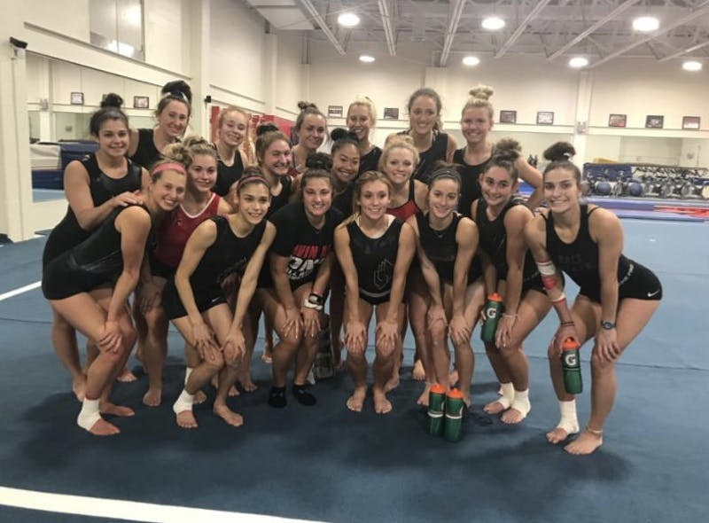 Ball State Gymnastics begins rigorous training program
