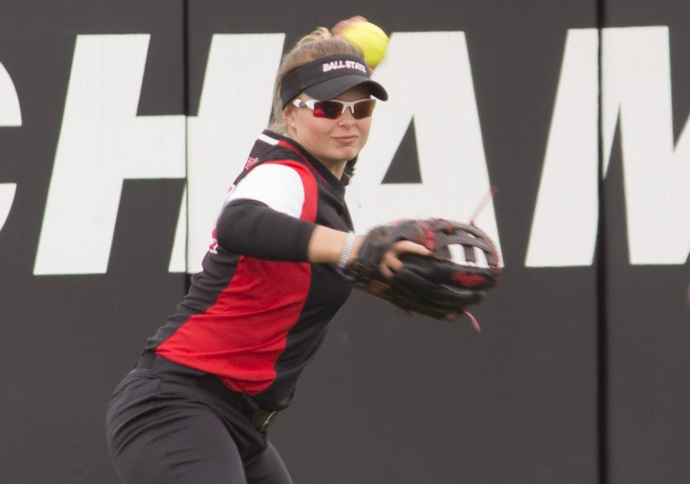 Ball State Softball splits doubleheader, loses series to Bowling Green