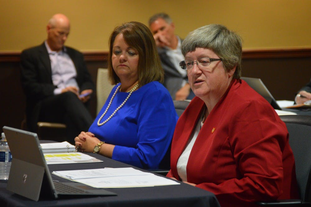 <p>Senior Advisor to the President and Ball State's Liaison to Muncie Community Schools (MCS), Marilyn Buck, said enrollment for the 2018-19 school year is just under 5,100 students currently. <strong>Allie Kirkman, DN File</strong></p>