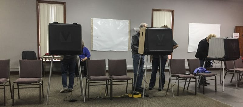 Students pay less attention to state elections than presidential