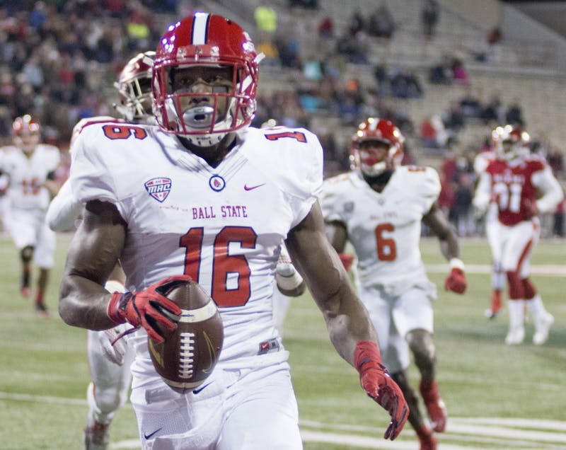 KeVonn Mabon breaks Ball State all-time receptions record