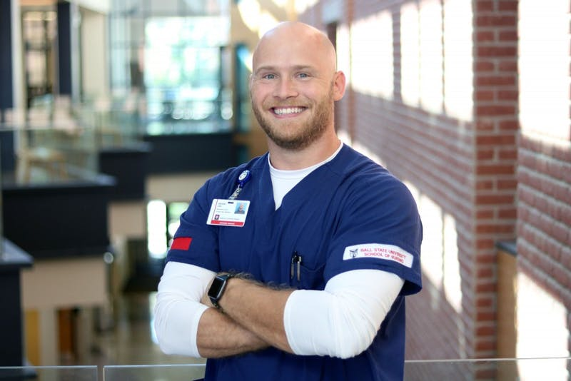 Ball State student, former marine aims to better healthcare for fellow veterans