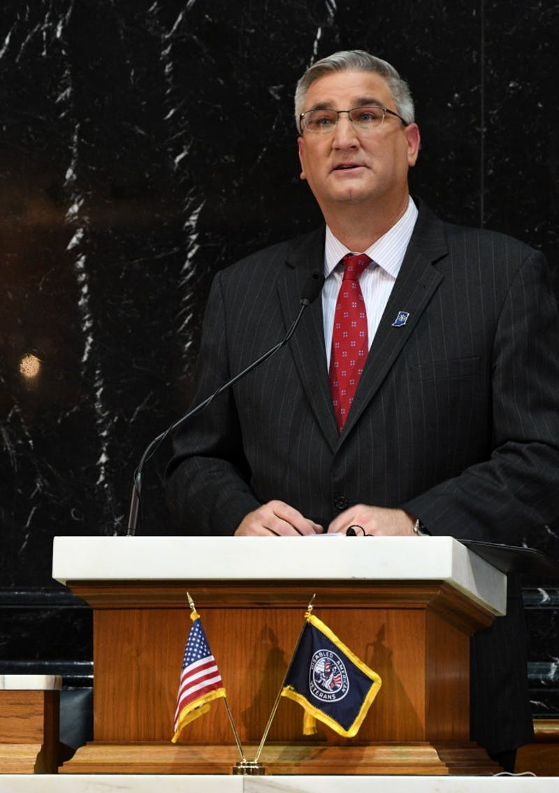 Gov. Eric Holcomb will be speaking at Ball State's 2019 spring commencement. This will the be the first time a sitting Indiana governor has spoken at this event. Wikimedia Commons, Photo Courtesy